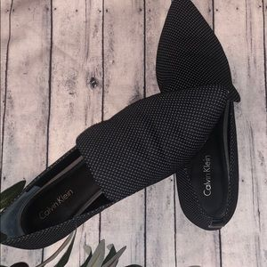 Versatile Black and Gray Loafer - Elin